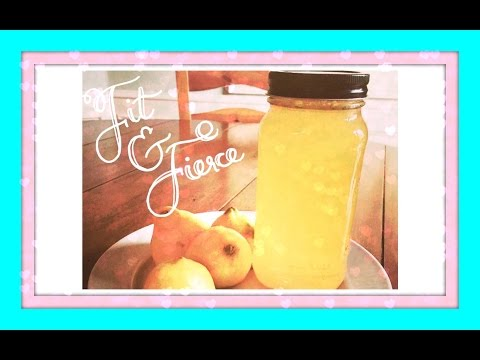 Fresh squeezed lemon tonic water. Get beautiful from the inside out!