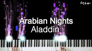 Arabian Nights - Aladdin ㅣ piano cover