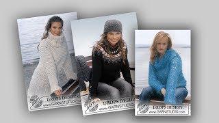 Пуловеры и джемпера  для осени...Drops84♥(crochet)♥
