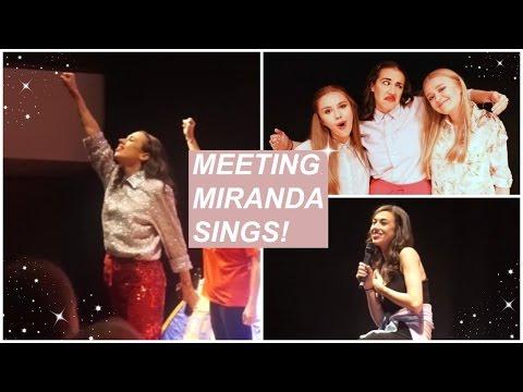 MEETING MIRANDA SINGS! MIRANDA CAMP BRISTOL