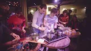 Кулинарный урок с Володей и Ваней - готовим пури и фалафель