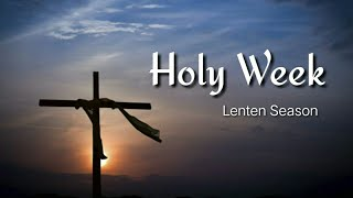 The Power of Faith: What is Lent? (Albert Flores)