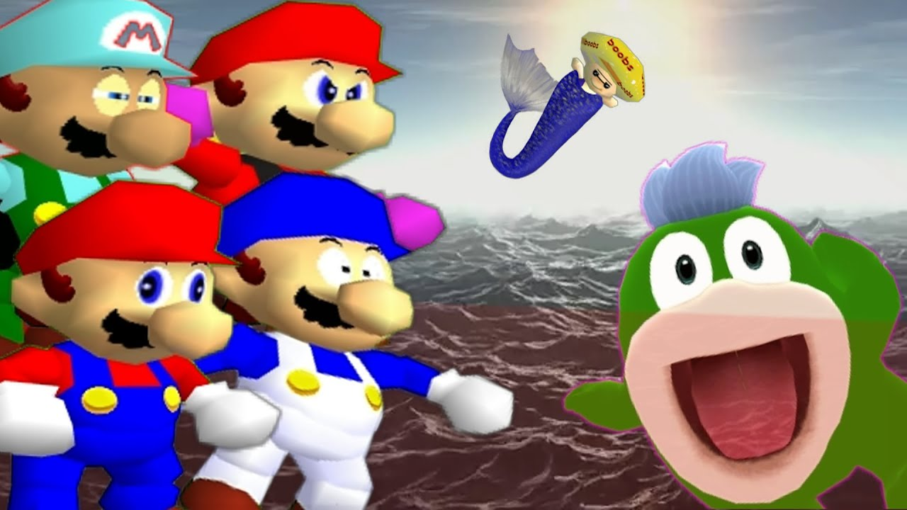 SMG4 N' Pals: Seaside Stupidity Part 1 - YouTube