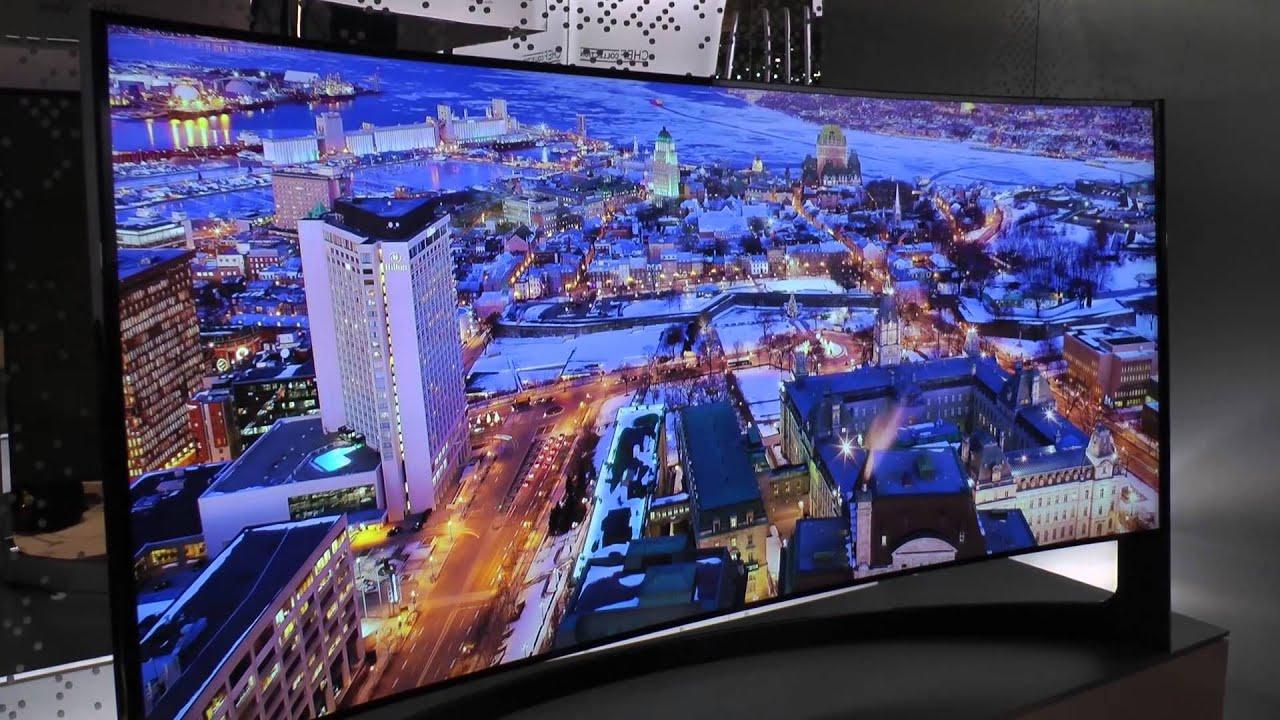 Samsungs böjda 105-tums 5K-tv hotar projektorer med