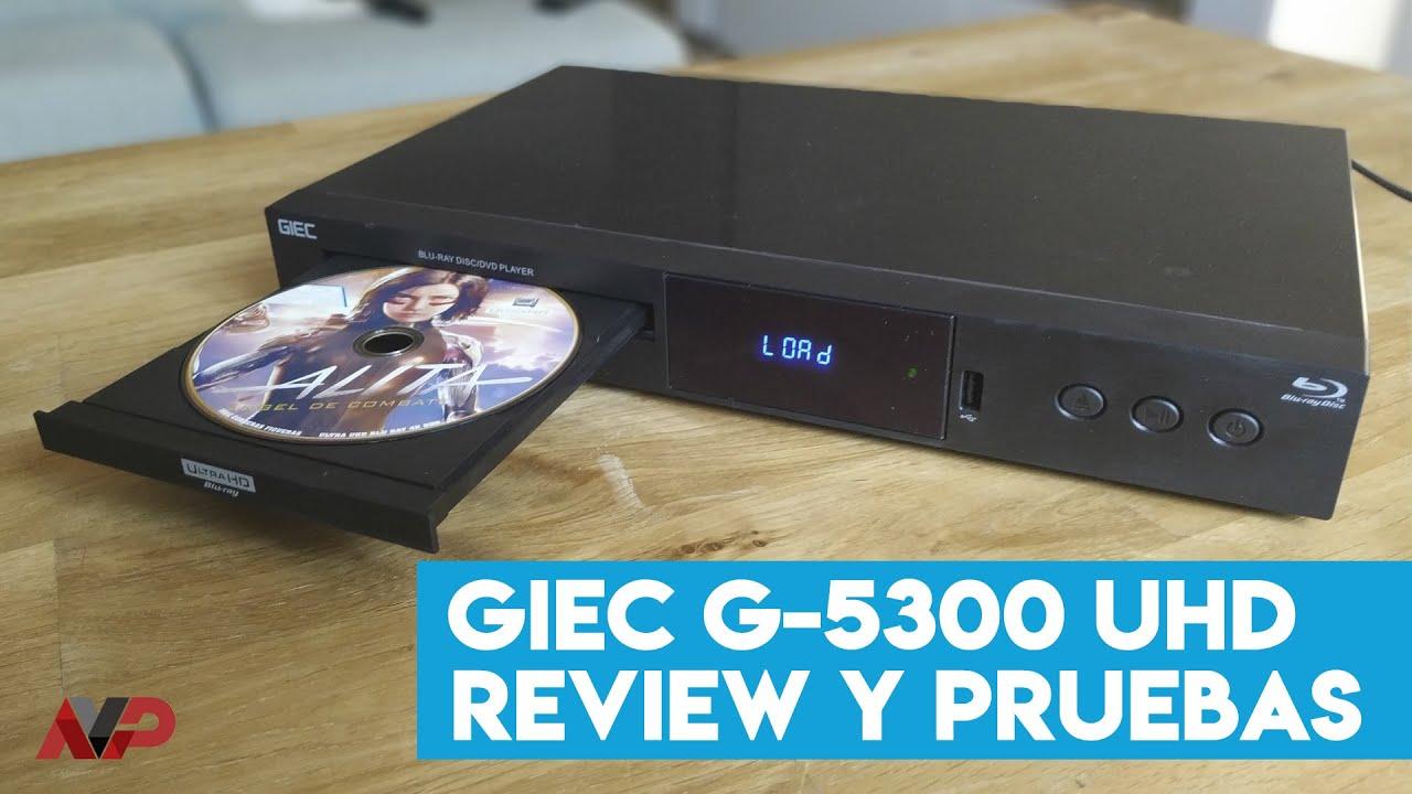 Reproductor (clon Oppo 203/Chinoppo) GIEC UHD G5300: Review y análisis de pruebas
