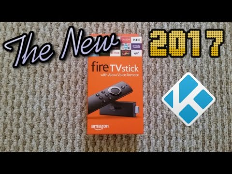 Unboxing The New 2017 Amazon Fire TV Stick with Kodi