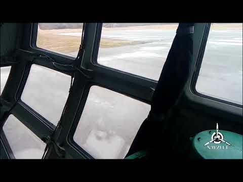 Taxiing And Takeoff IL 76. Vitebsk/VTB