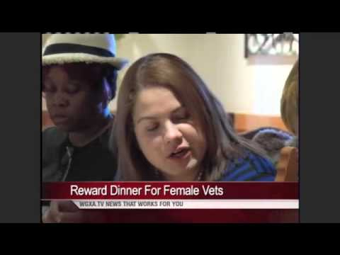 Soup and Salad Lunch for Female Vets