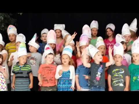 Joshua and the kindergarten production