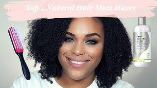 My Current Top Five Natural Hair Favorites