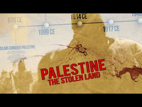 Palestine: The STOLEN LAND - Zionist Occupation #FREEPALESTINE