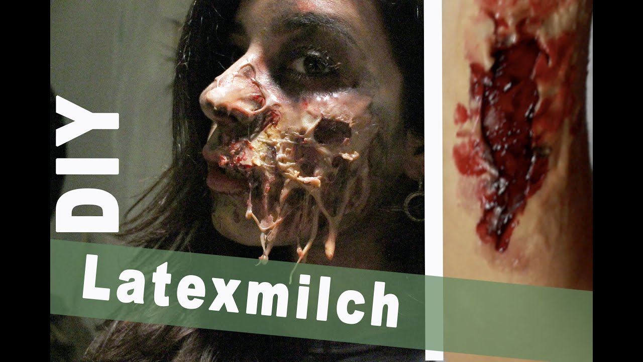 diy latexmilch aus gelatine 2 sfx wunden last minute halloween kost m youtube. Black Bedroom Furniture Sets. Home Design Ideas