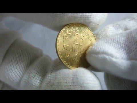 25 Schilling 1928 Austria Gold