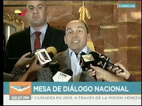 Mesa de Diálogo Nacional: Declaraciones de Felipe Mujica y Francisco Torrealba este 15 enero 2020