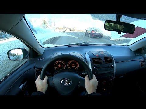 2008 Toyota Corolla 1.4L (97) POV TEST DRIVE