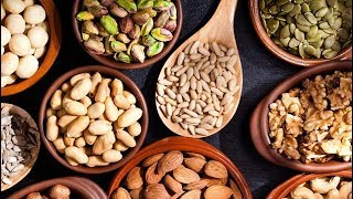 Different Types Of Nuts, Pistachios, Walnuts, Cashews, Almonds, Hazelnuts, pecans | Health Benefits