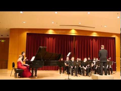 Berg Chamber Concerto 1st Mvmt Rose Lachman Leslie Heinzen Joshua Horsch