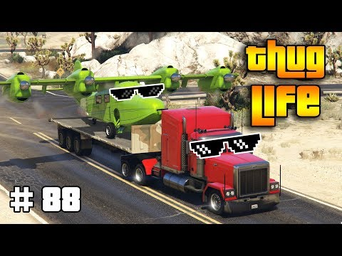 GTA 5 ONLINE : THUG LIFE AND FUNNY MOMENTS (WINS, STUNTS AND FAILS #88)