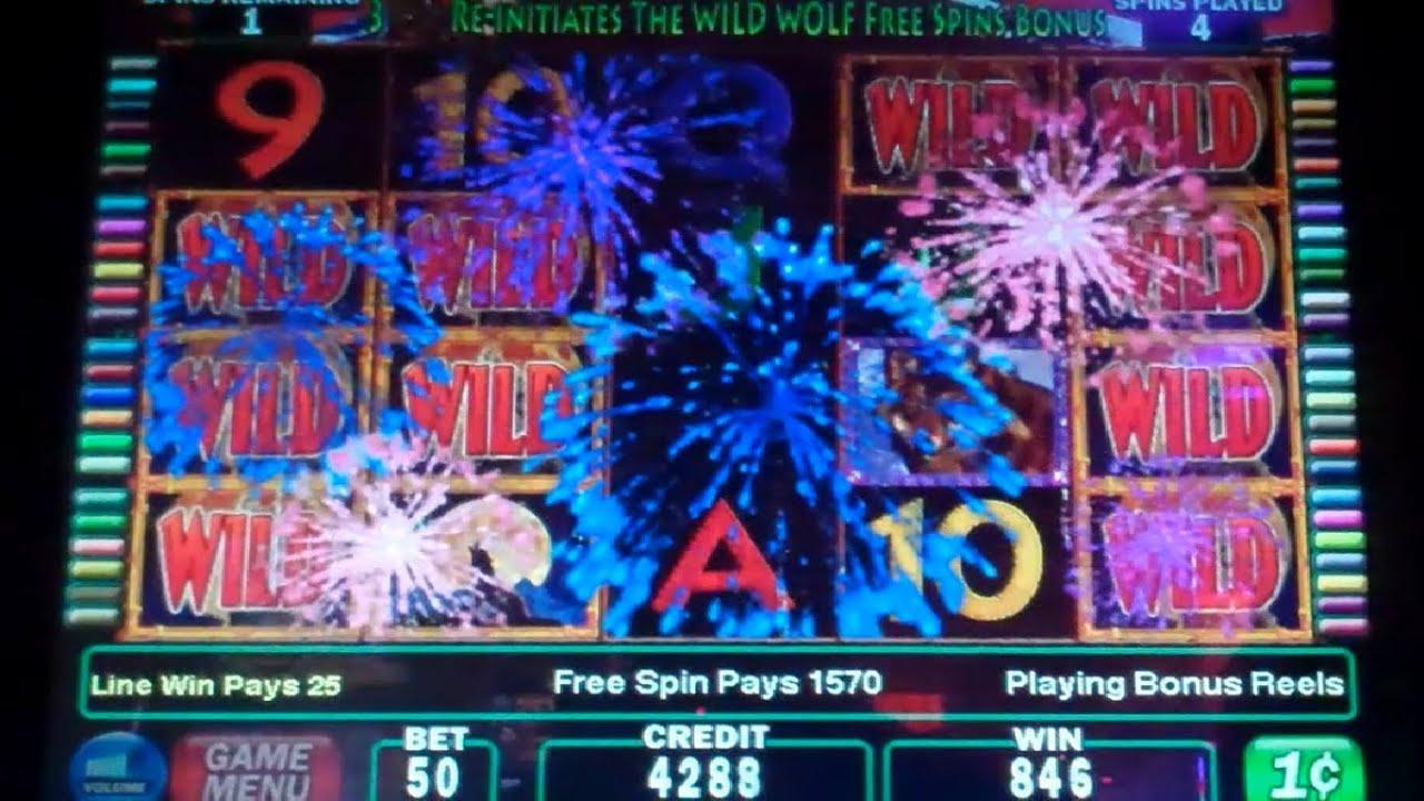 Wild Wolves Slot Machine