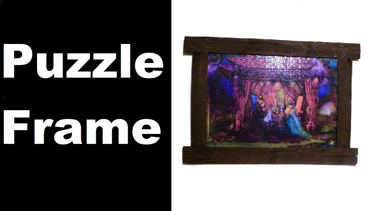 Making a Puzzle Frame from Pallet Wood   Framing a Memory From our ...