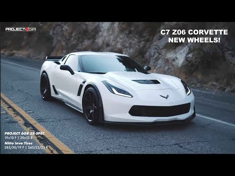 Perfect Fitment! C7 Corvette Z06 sporting Project 6GR 7-SEVEN wheels