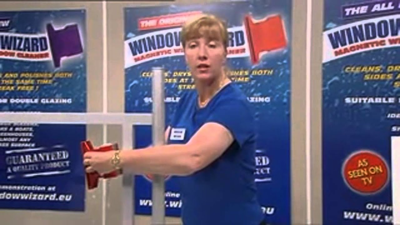 Window Wizard Magnetic Window Cleaner Asseenontvmalaysia