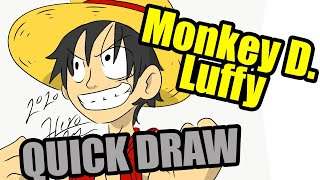 Quick Draw | Monkey D. Luffy from One Piece | Millsbury Media