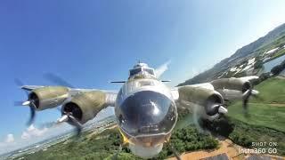 B-17 フライングフォートレス ラジコン飛行機を飛ばしていたら 志村!うしろ!うしろ!だった件