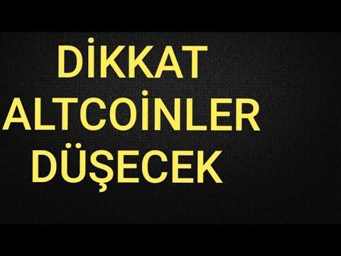 Altcoinler Düşecek Mi? Bitcoin Ve Altcoin Genel Analiz #bitcoin #Altcoin
