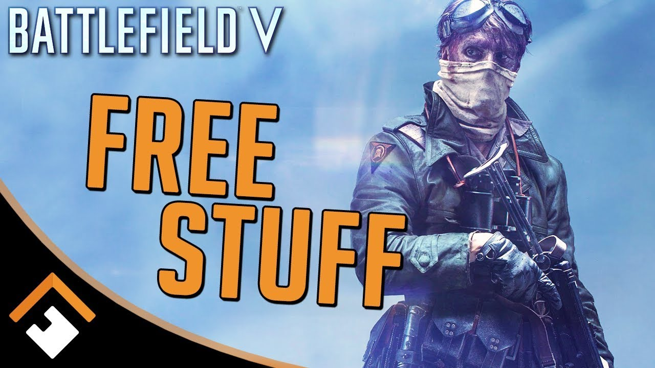 BATTLEFIELD V: FREE STUFF! Unlock New Soldier Customization + Weapon Skins