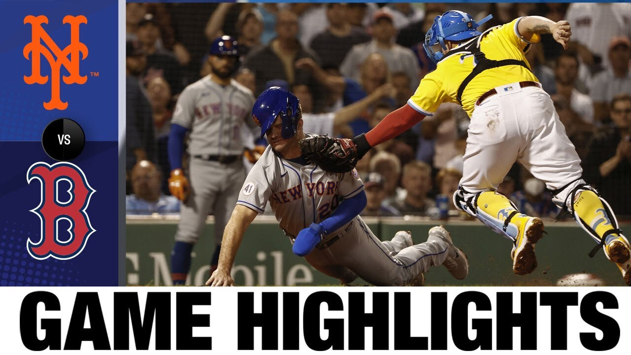 Download Mets vs. Red Sox Game Highlights (9/21/21) | MLB Highlights