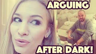 Arguing After Dark! | What I Ate Wednesday