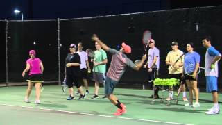 Golden Suns Tennis - Block Party for Backpacks