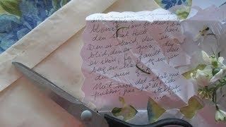 How To Make Gaekkebrev (gækkebrev) Old Fashion Letter Tradition With Snowdrop Flowers - Easter Egg