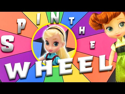 Elsa's Valentine's Day Spin The Wheel Game with LOL Surprise Doll Unboxing!   Princess World