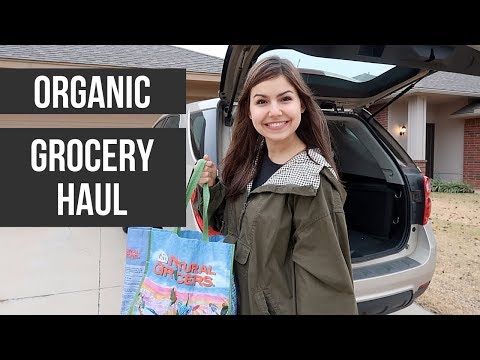 VLOG | Organic Grocery Haul & What I Eat In A Day