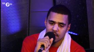 J Cole chats to Sarah-Jane Crawford and Twin B at 1Xtra Live