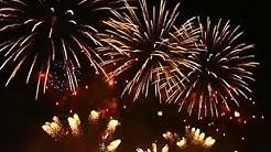 Internationales Feuerwerk-Fesival in Moskau