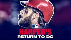 Harper's EPIC return to D.C. (boos, HR, bat flip and more)