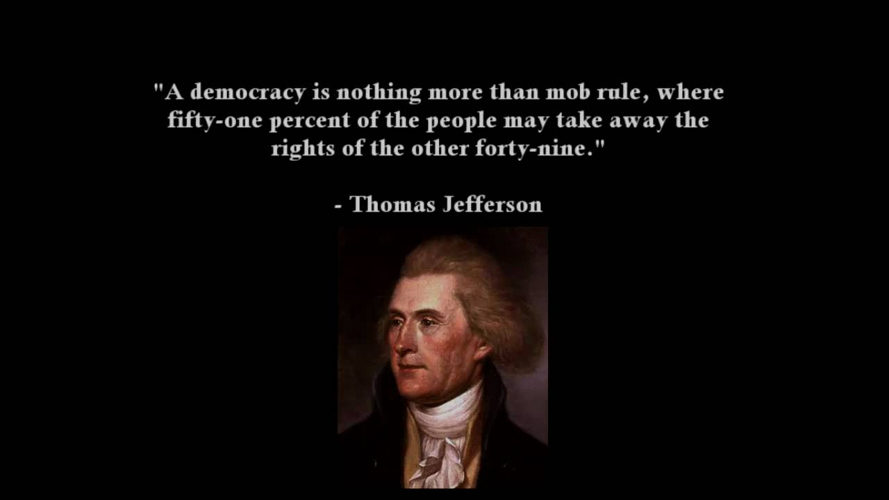 Democracy Quotes Democracy Is Not Freedom  Youtube