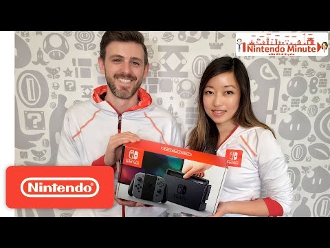 Nintendo Switch Unboxing – Nintendo Minute