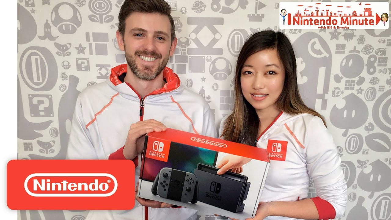 Nintendo Switch Unboxing – Nintendo Minute by : Nintendo