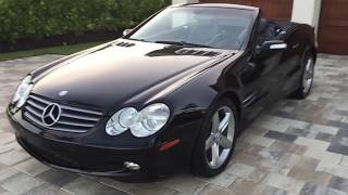 2004 Mercedes Benz SL500 Roadster Review and Test Drive by Bill Auto Europa Naples