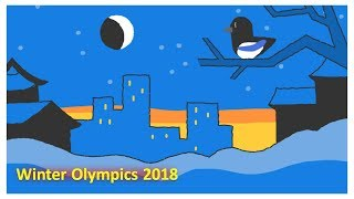 Winter Olympics 2018 | Doodle Snow Games Final Day 17 Closing Ceremony