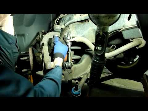 dodge dakota ball joint,sway bar link replacement - youtube  youtube