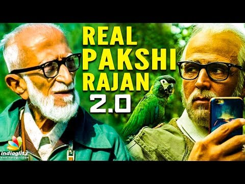 2.0's Pakshi Raja : The Real Life Inspiration | Director Shankar, Salim Ali