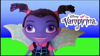 New Bat-tastic and Wolfie Talking Vampirina doll from Disney