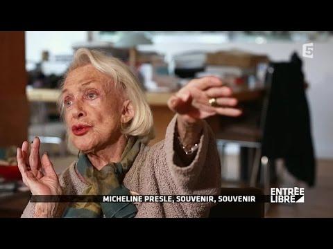 """Micheline Presle """"Je veux être actrice"""" - Entrée libre"""