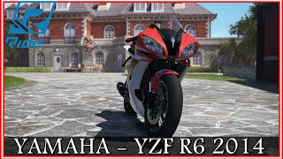 RIDE : #20 YAMAHA YZF R6 2014 (Gameplay Max Power) -Multicam