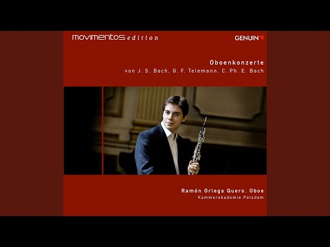 Flute Concerto in D Minor, Wq. 22, H. 425 (arr. R.O. Quero for oboe, strings and harpsichord) :...